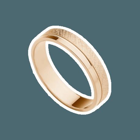 alianza-de-oro-rosa-plana-modelo-097r