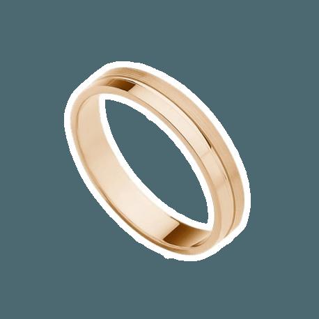 alianza-de-oro-rosa-plana-modelo-176r