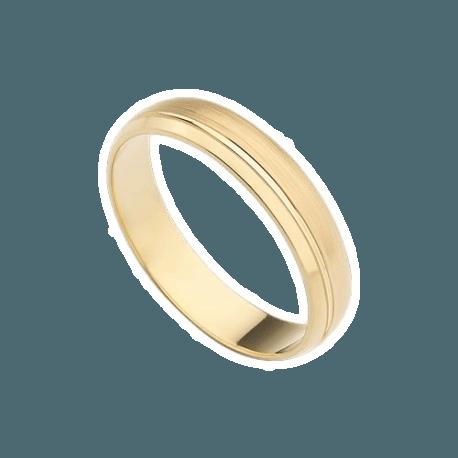 alianzas-de-oro-amarillo-media-cana-modelo-092a
